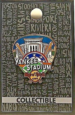 Hard Rock Cafe Yankee Stadium Pin Core Greetings From Series New LE MLB 2017 NY