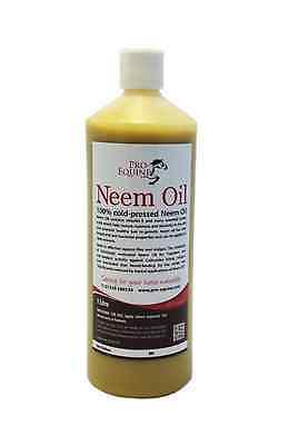 NEEM OIL 1 LITRE Rainscald/Mudfever/Sweetitch/woundcare/itchy skin