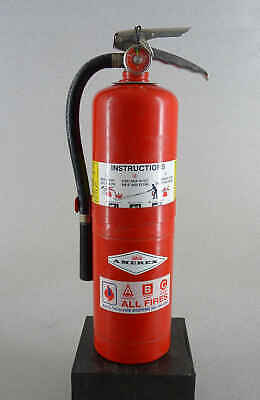 Amerex Ex2764 10 Lb Abc Fire Extinguisher Charged Dry Chemical Free Shipping