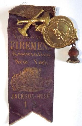 VINTAGE JACKSON HOSE #13 FIREMEN