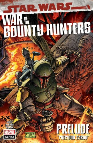 Star Wars War of the Bounty Hunters Alpha #1 A CVR - McNiven - Presale 5/5/2021