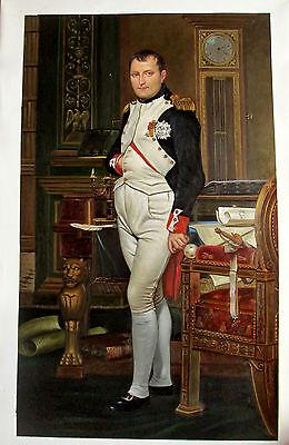 Ölbilder Ölgemälde Napoleon in seinem Arbeitszimmer von Jacques L.David 60x90cm
