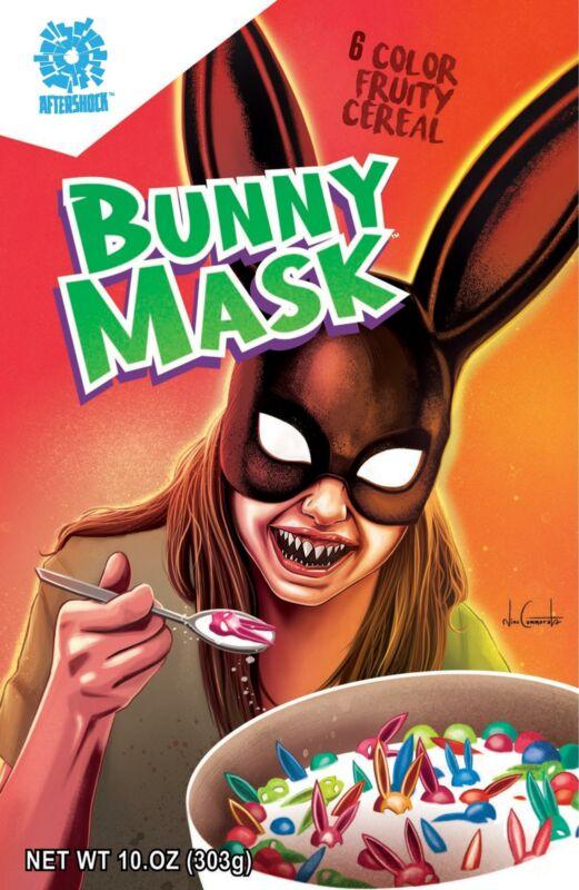 Bunny Mask #2 | Nino Cammarata Exclusive Variant | Aftershock Comics