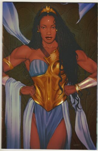 NUBIA AND THE AMAZONS 1 1:25 MEGALUSTRE SWAY SWABY VARIANT COVER DC 2021*