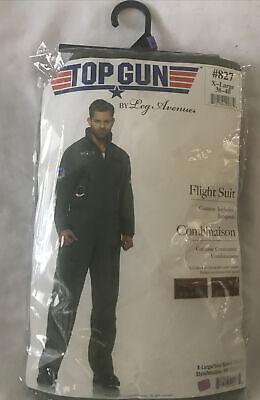 New Top Gun Men's Flight Suit Halloween Costume by Leg Avenue Size XL