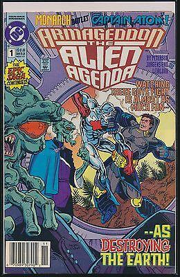 Armageddon: The Alien Agenda #1 (Nov 1991, DC) 1st Print FN/VF