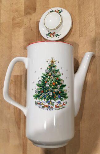 "Salem ""CHRISTMAS EVE"" Vintage 9"" Coffee Pot - perfect!"