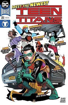 TEEN TITANS #20 DC COMICS NEAR MINT 7/25/18