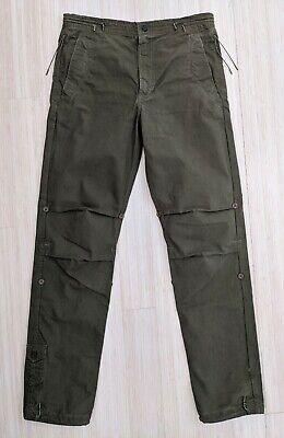 $260 EUC Maharishi Olive Green Cargo Pants Men's Size M Long 32x33 FREE SHIPPING