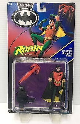 Batman Returns Robin Launching Grappling Hook Action Figure Sealed Kenner - Robin Grappling Hook
