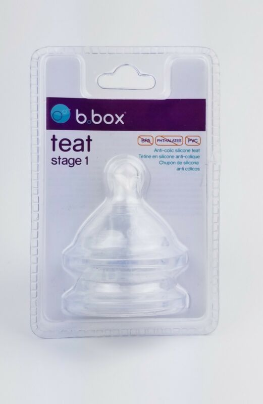 B.box Teat Stage 1 (2 Nipples)