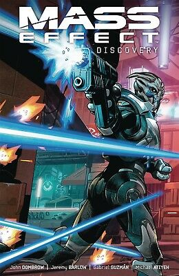 MASS EFFECT: DISCOVERY TPB Video Game Comics Collecting #1-4 TP