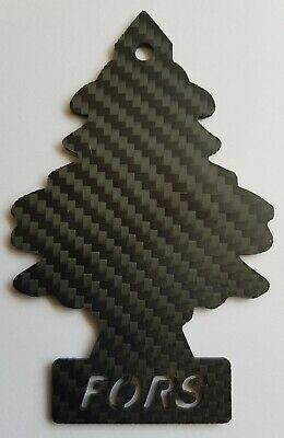 FOCUS RS (FORS) REAL CARBON FIBRE MAGIC TREE STYLE REAR VIEW MIRROR DECORATION  Magic Focus Mirror
