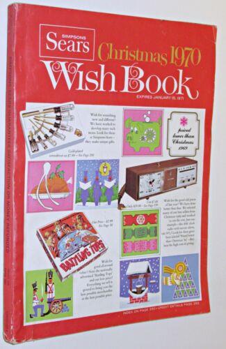 Vintage 1970  Sears Christmas Wish Book Catalog - Barbie,