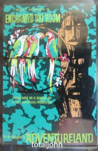 Disney DLR - Framed Attraction Poster Enchanted Tiki Room Pin