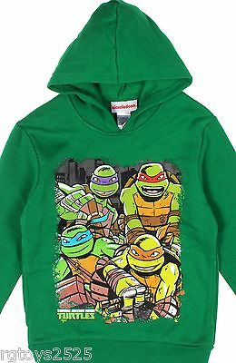 Teenage Mutant Ninja Turtles Pullover Hoodie Sz 4-5 6-7 8 10-12 14-16 New (Teenage Mutant Ninja Turtles Kapuzenpullover)