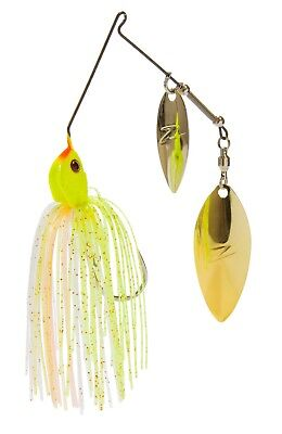 Z Man SlingbladeZ Double Willow Spinnerbait - Bass & Trout Fishing Lure Bait