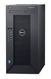 *New* Dell PowerEdge T30 Mini Tower Server Intel Xeon E3-1225 Quad-Core 8GB 1TB