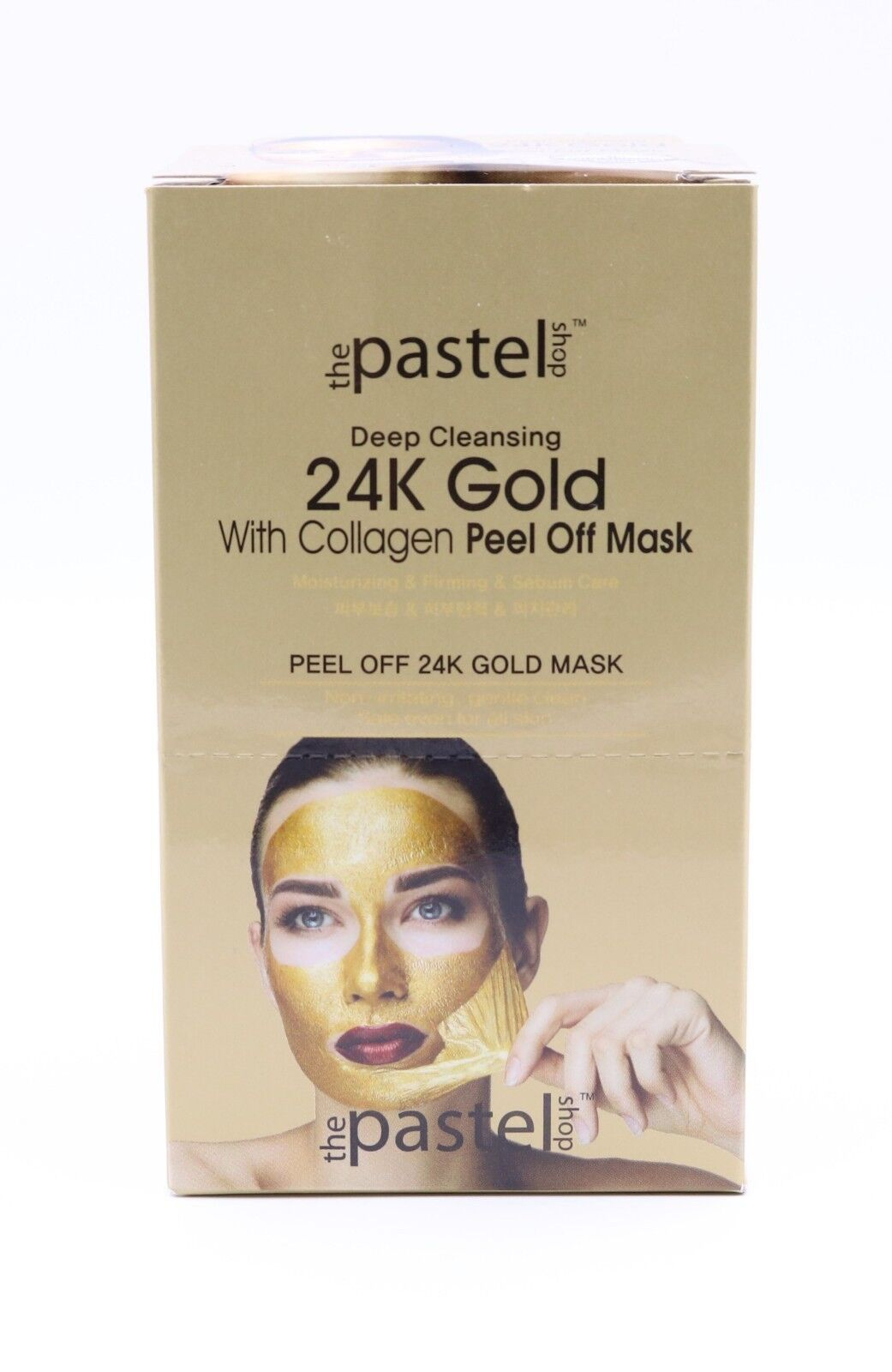 24K Gold with Collagen Peel-Off Mask Misturizing & Firming