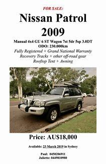 Nissan Patrol 2009 colour silver Erskineville Inner Sydney Preview