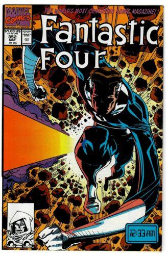 FANTASTIC FOUR #352 MAY 1991 1ST MINUTEMEN MR. MOBIUS LOKI MARVEL COMIC BOOK 1