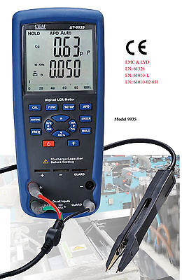 Cem Lcr Meter Dt-9935 Kelvin 4-wire Ohm Inductance Capacitance Q D Theta Tester