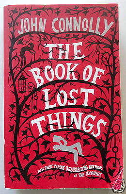 THE BOOK OF LOST THINGS by John Connolly, New York Times Bestselling