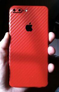 Custom Red/Black Carbon iPhone 7 Plus 128GB Unlocked -TRADE/SELL