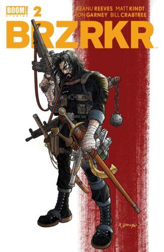 🔥 BRZRKR #2 COVER A GRAMPA KEANU REEVES BOOM STUDIOS BERSERKER 4/28/2021 NM!