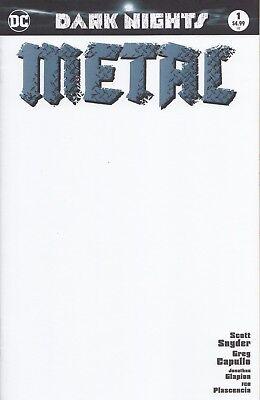 BLANK BATMAN Dark Nights METAL Sketch variant NM Ships Fast JIM LEE ED 1/3000