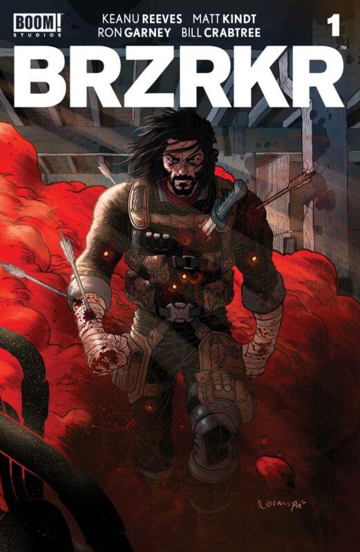 BRZRKR #1 (Boom Studios) 2021 Cover A