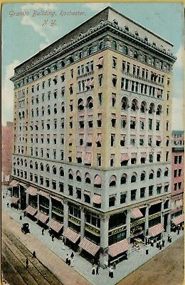 1911 Granite Building Union Clothing Co Rochester New York NY Postcard A28 ()