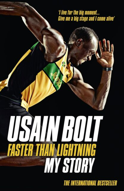 Usain Bolt Autobiography - Faster Than Lightning - My Story - Jamaican Sprinter