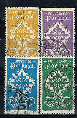 Portugal National Emblem and Crown stamps 1940
