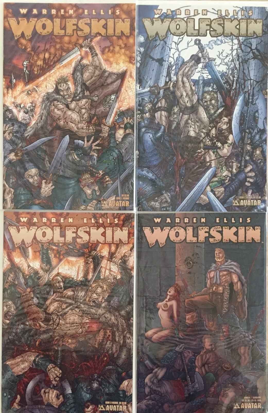 Wolfskin first Series, Avatar Press, 2006-2007  - $12.00
