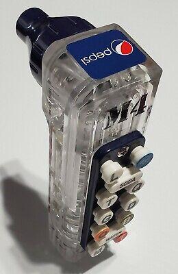 Wunder Bar Soda Dispenser Gun - Pepsi - 12 Button - Replacement