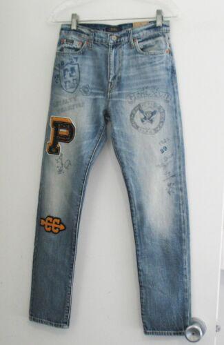 Polo Ralph Lauren Boys Sullivan Slim Cotton Jeans Dalton Wash Sz 16 - NWT