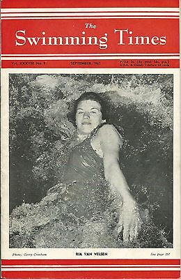 SWIMMING TIMES - Sept. 1961