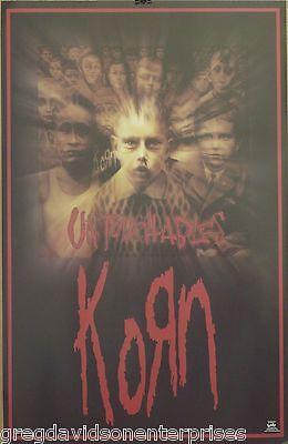 Korn 23x35 Untouchables Cover Art Poster