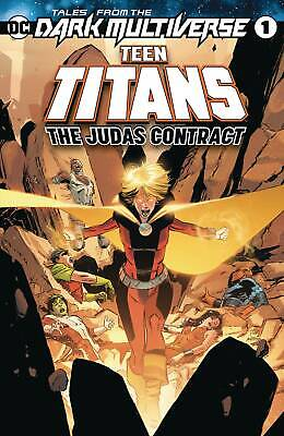 TALES FROM THE DARK MULTIVERSE THE JUDAS CONTRACT TEEN TITANS #1 [OCT190482] DC