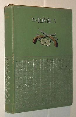 The Rivals A Comedy Richard Brinsley Sheridan 1893 Dodd Mead Frank M Gregory Art