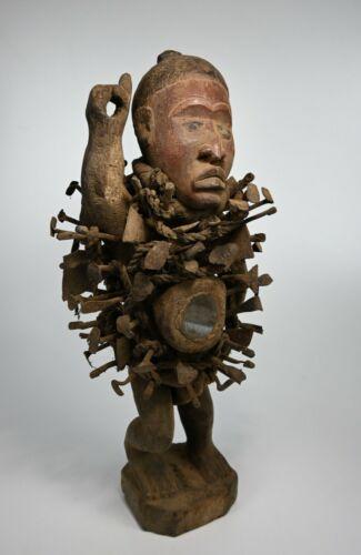 Nkisi Nkonde Nail fetish, African Tribal Art
