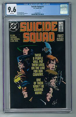 Suicide Squad #1 (May 1987, DC) CGC 9.6 White pages