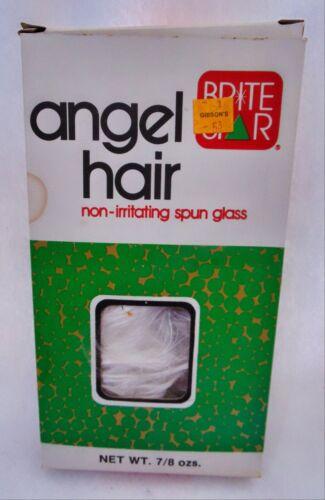 Vintage Christmas Brite Star Angel Hair 7/8 oz Tree Ornament Decoration NOS