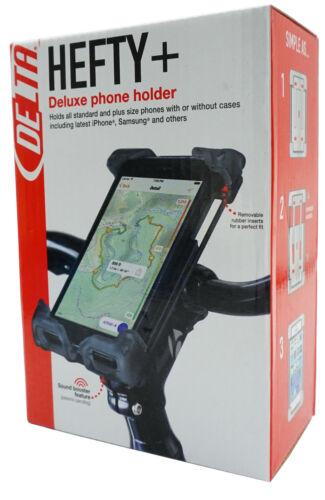 Delta HL6300 Hefty+ Large iPhone Android Holder Smart Phone case bike bar/ stem