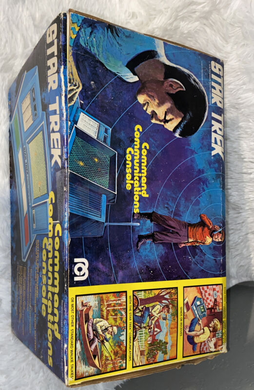 Star Trek Command Communication Console With Box