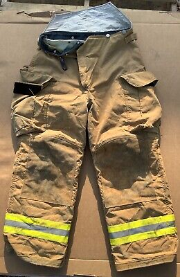 Lion Janesville Turnout Bunker Pants Fire Fighting Firefighter Gear 36r