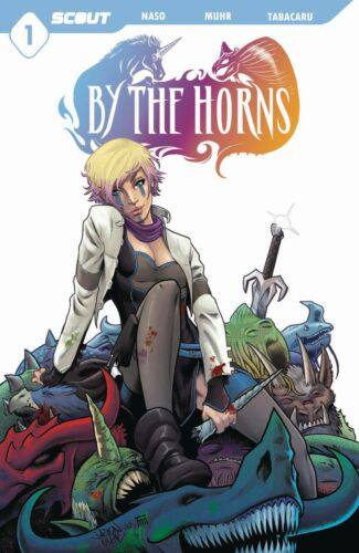 BY THE HORNS #1 SCOUT COMICS 1ST PRINT NM 2021