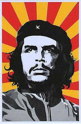 Planche A4 Tuning 1 Autocollant Sticker Che Guevara
