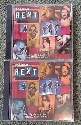 The Best of Rent: Highlights from the Original Cast Album (2 (Best Of The Best 2 Cast)